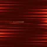 Красная предпосылка с неоновыми линиями Линия красного света Стоковое фото RF