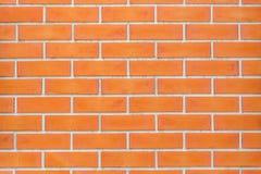 Красная предпосылка текстуры картины кирпичной стены блока Стоковая Фотография RF