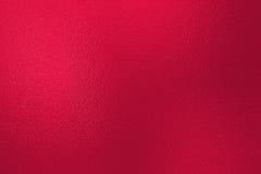 Красная предпосылка текстуры фольги Стоковое Изображение RF