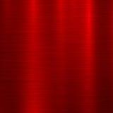 Красная предпосылка технологии металла Стоковая Фотография