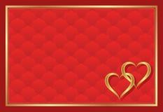 Красная предпосылка Стоковая Фотография RF