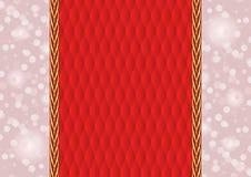 Красная предпосылка Стоковая Фотография