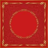 Красная предпосылка Стоковое Изображение
