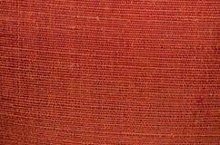 Красная предпосылка silk ткани Стоковая Фотография