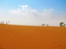 Красная пустыня песка Стоковое Изображение