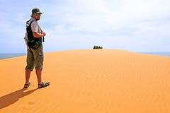 Красная пустыня Стоковое Фото