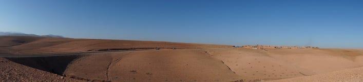Красная пустыня Стоковое Изображение