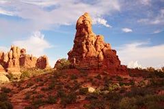 Красная пустыня Стоковая Фотография RF