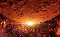 Красная планета Стоковое Изображение