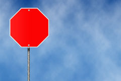 Красная плита знака бесплатная иллюстрация