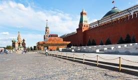 Красная площадь в Москве Стоковая Фотография RF