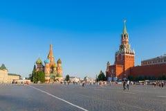 Красная площадь в Москве Стоковое фото RF