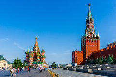 Красная площадь Москвы Стоковые Изображения