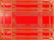 Красная рамка с texture1 Стоковое фото RF