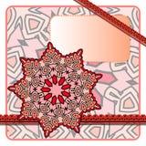 Красная рамка Стоковые Фото