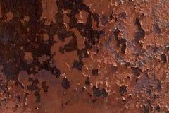 Красная ржавая предпосылка Стоковое Фото