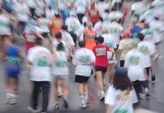 красная рубашка бегунка Стоковое Фото