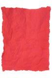 Красная салфетка Стоковое Изображение