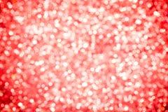 Красная сверкная предпосылка Стоковые Фотографии RF