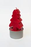 Красная свеча 01 Стоковые Фотографии RF