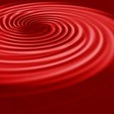 красная свирль Стоковые Фотографии RF