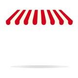Красная сень Стоковые Фотографии RF