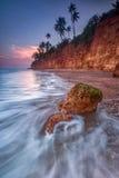 Красная скала, Prachuap Khiri Khan, Таиланд Стоковые Изображения