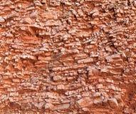 Красная скалистая почва стоковое изображение rf