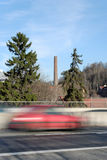 красная скорость Стоковая Фотография