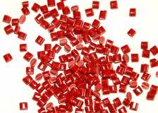 красная смолаа термопластиковая Стоковое фото RF