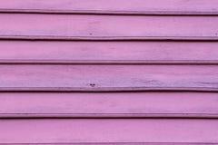 Красная старая деревянная стена Стоковое Изображение RF