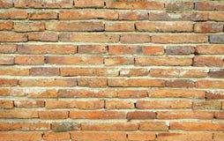 Красная старая кирпичная стена Стоковая Фотография