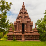 Красная старая пагода стоковые изображения