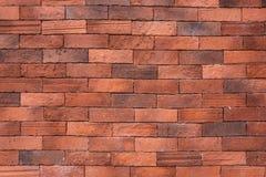 Красная старая предпосылка кирпичной стены стоковые изображения