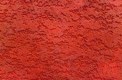 красная стена текстуры Стоковые Фотографии RF
