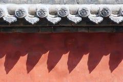 красная стена Стоковое Изображение RF