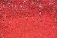 красная стена Стоковая Фотография RF