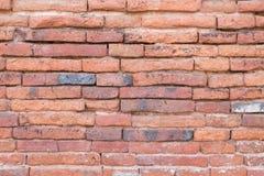 Красная стена briks стоковое изображение rf