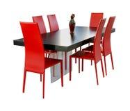 Красная столовая Стоковое фото RF