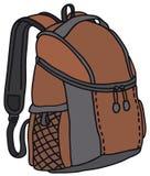 Красная сумка набора Стоковые Фото