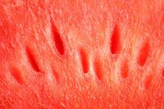 Красная текстура арбуза Стоковое Фото