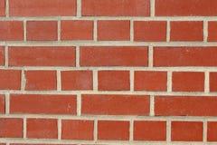 Красная текстура предпосылки кирпичной стены Стоковое Изображение RF
