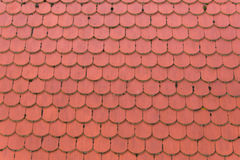 Красная текстура предпосылки картины крыши стоковое фото