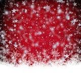 Красная текстура предпосылки рождества Стоковое Изображение