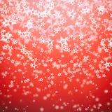 Красная текстура предпосылки рождества Стоковые Изображения