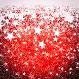 Красная текстура предпосылки рождества Стоковое Фото