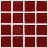 Красная текстура плиток Стоковое Изображение