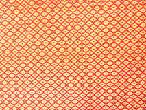 Красная текстура ткани полиэстера Стоковые Фото