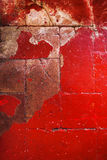 Красная текстура Grunge зернистой стены абстрактный красный цвет предпосылки Стоковые Фотографии RF