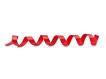 красная тесемка Стоковое Изображение RF